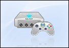 Dreamcast with Xbox controller
