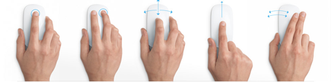 Apple's Multitouch Mouse