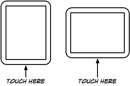 TouchPad with touch-sensitive area