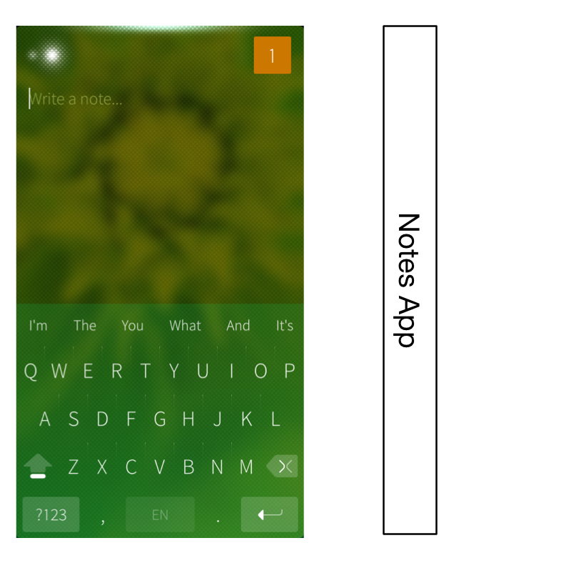 Notes App on Jolla